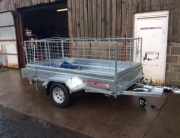 8x4 Trailer 600mm Sides
