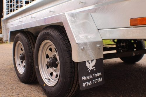 9x5 Twin Axle Trailer (Braked)