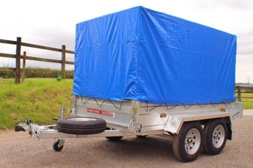 box trailer with cover
