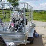 Motorbike Box Trailer