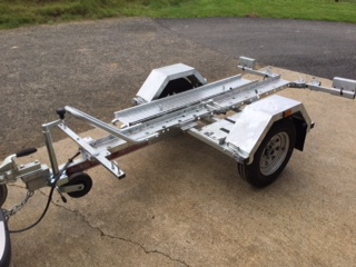 Single Folding Bike Trailer